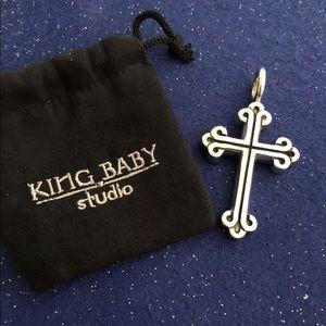 King Baby Studio S.S Large Cross Pendant  K13-5046